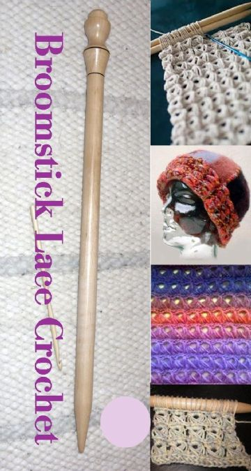 An Introduction and Guide to Broomstick lace Crochet